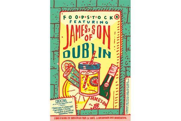 Le James son of Dublin de la Veillée Foodstock 2015