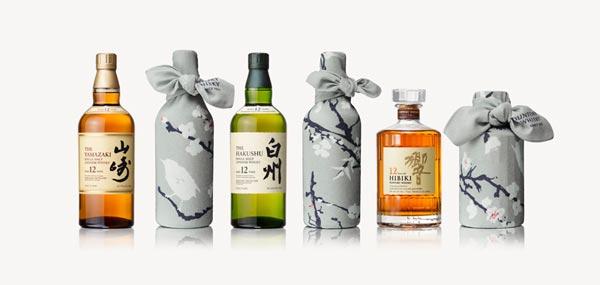 Les whiskies Suntory en Tsutsumu pour la fête des pères