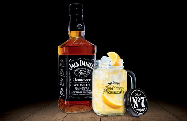 Cocktail Lynchburg Lemonade au Jack Daniel's Old N°7