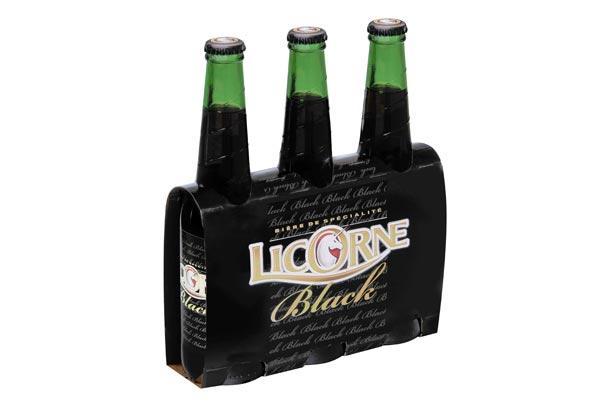 Le nouveau Tripack 33cl de la bière Licorne Black