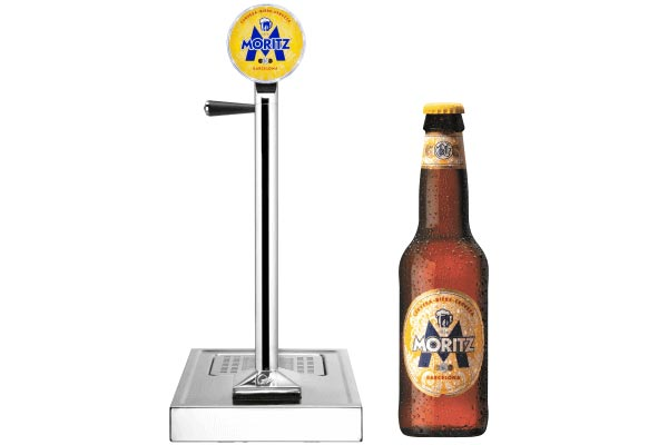 La bière Moritz de Barcelone