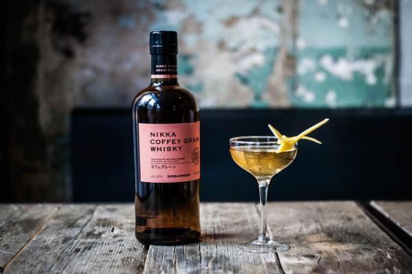 Cocktail Tsukimi au whisky Nikka Coffey Grain
