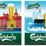 Trouver la Danoise ! La nouvelle campagne de pub pour la bière Carlsberg