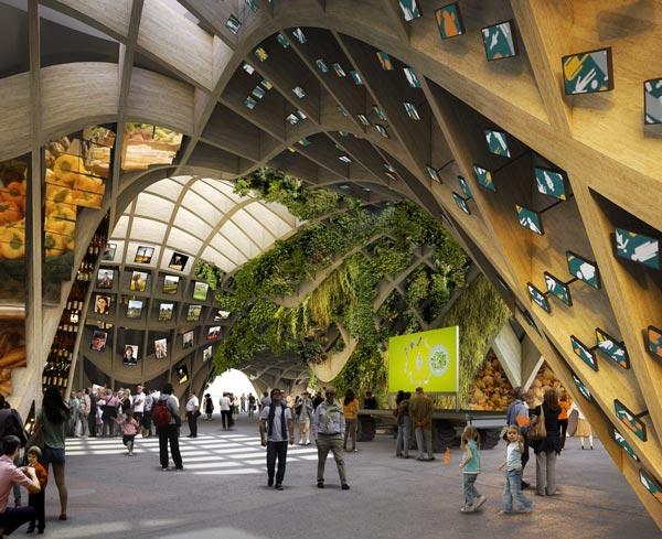 Le Pavillon France à Milan © CMC / XTU / STUDIO A. RISPAL /SIMONIN Frères/ALN