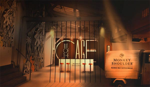 Bar Out of The Cage par Monkey Shoulder