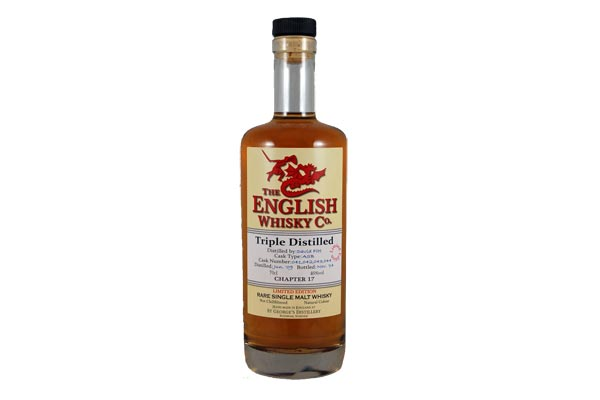 Chapter 17 Triple Distilled Single Malt de la St George's Distillery