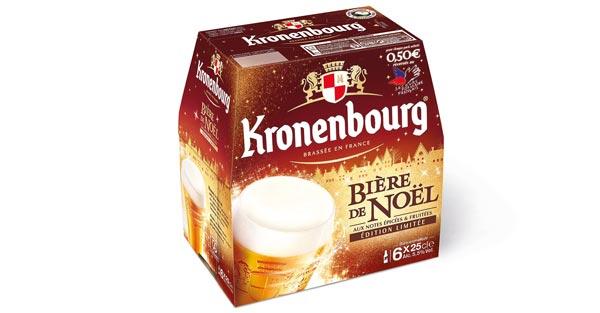 Kronenbourg bière de Noël solidaire