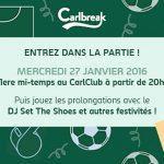 Gagnez votre invitation à la soirée Carlbreak !