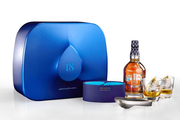 Coffret Chivas 18 ans Pininfarina The Drop