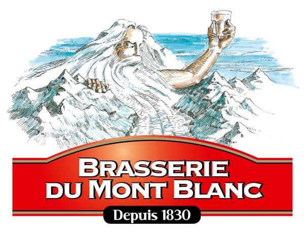 Le logo de la Brasserie du Mont-Blanc