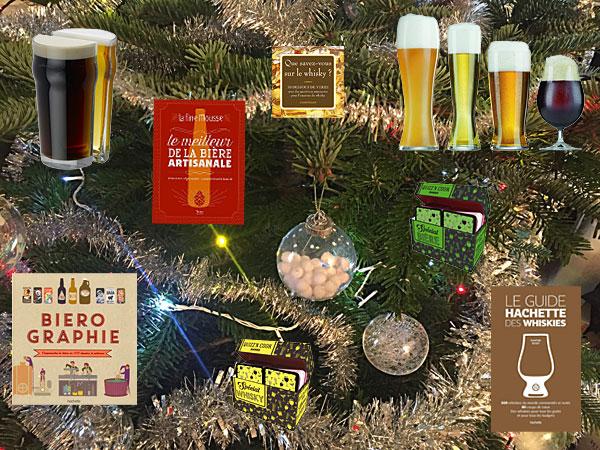 Cadeaux bière et whisky à mettre sous le sapin