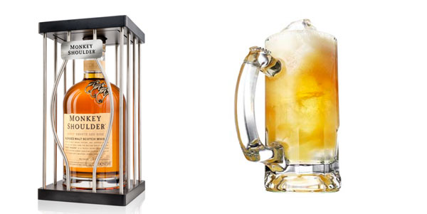 Coffret Monkey Shoulder et Ginger Brewsky
