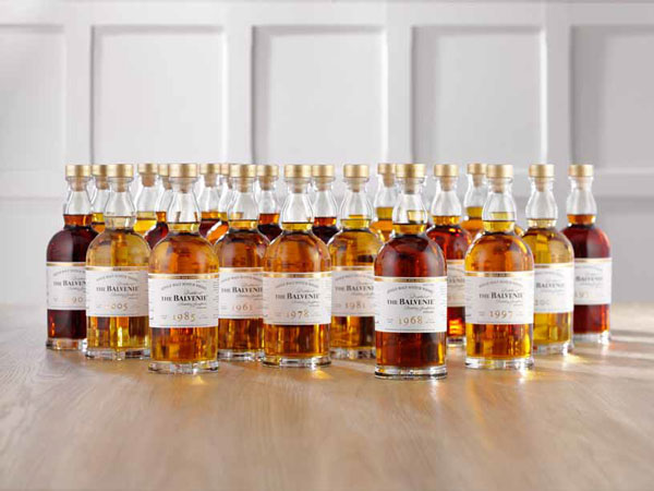Les 25 whiskies de The Balvenie DCS Compendium