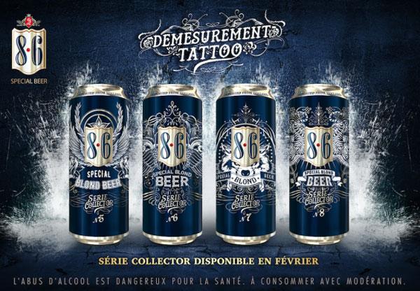 Les nouvelles boites Bavaria 8.6 Démesurément Tattoo