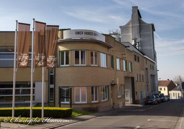 La Brasserie Omer Vander Ghinste à Bellegem