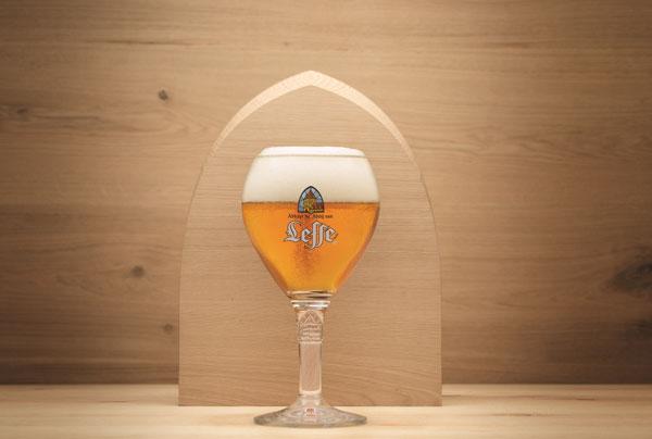 Le nouveau verre Leffe