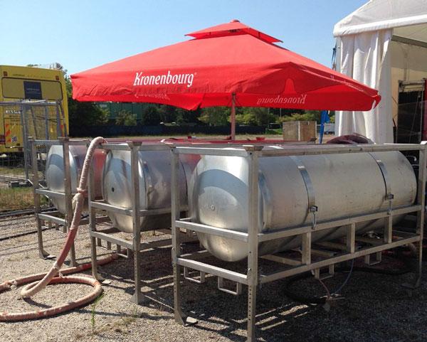 Tanks Kronenbourg sur les événements