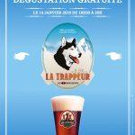 Les 3 Brasseurs vous invitent à découvrir leur bière La Trappeur
