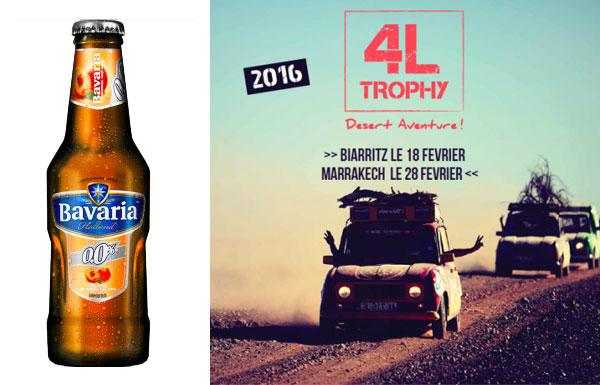 Bavaria Partenaire du 4L Trophy