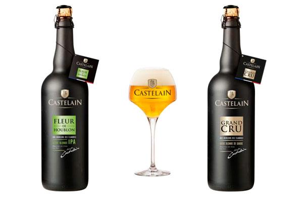 Les nouvelles bières Castelain Grand Cru et Castelain Fleur de Houblon