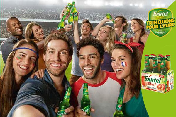 Tourtel Twist à fond sur l'Euro 2016