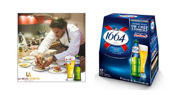 Un Chef à domicile avec la bière 1664