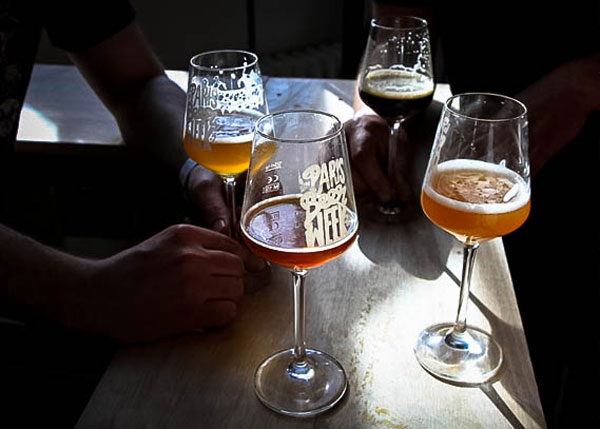 Dégustation à la Paris Beer Week