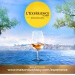 Expérience whisky au bord de la Méditerranée