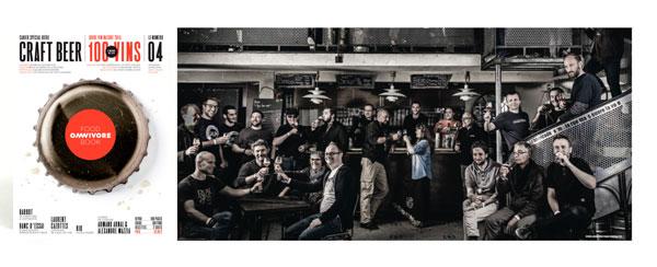 Foodbook Omnivore consacré à la bière artisanale
