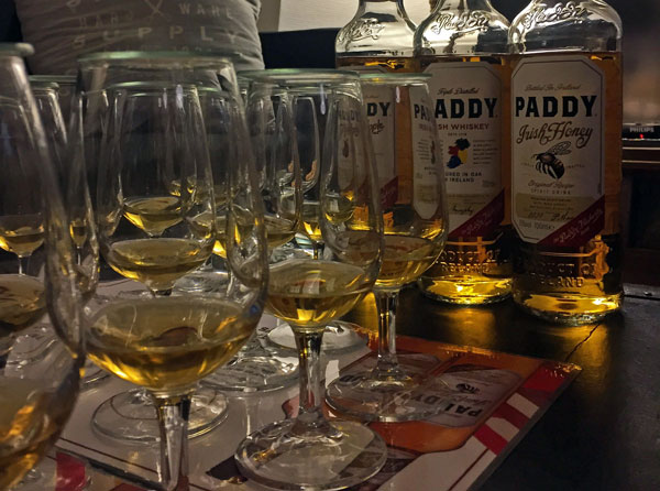 Irish whiskey Paddy