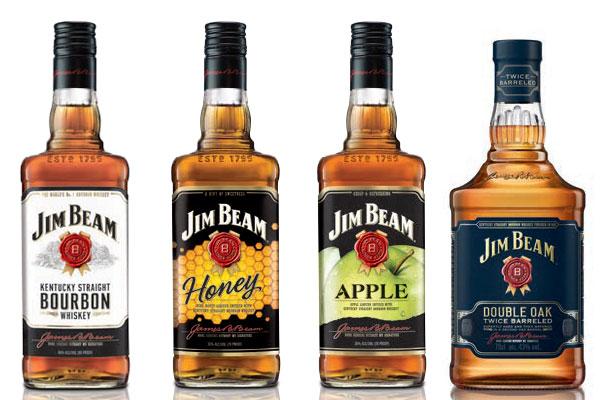 La gamme Jim Beam relookée et le Double Oak