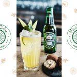 Freddy Collins, cocktail à la Heineken par Michael Mas du Gravity Bar à Paris
