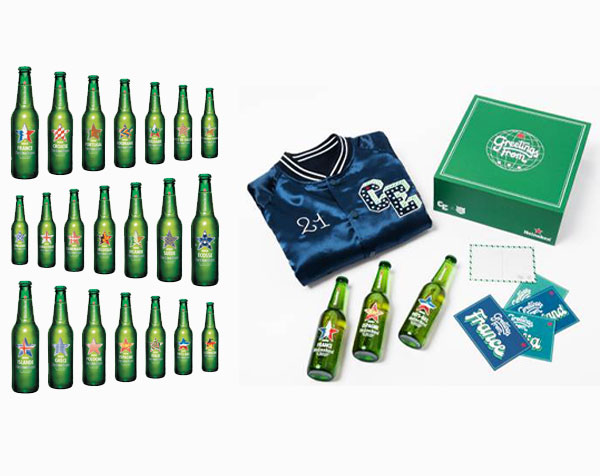 Heineken Countries Edition et coffret Pablo Cots