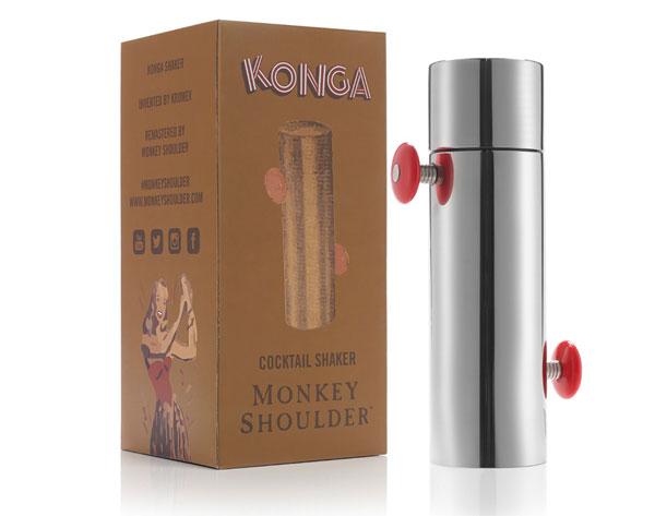 Le Konga Shaker de Monkey Shoulder