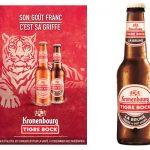 La Tigre Bock Brune dans les cafés, hôtels et restaurants