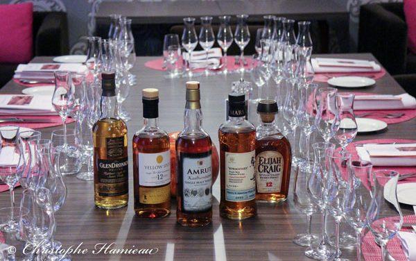 Notre soirée whisky au restaurant Loiseau Rive Gauche