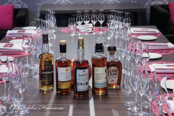 Soirée whisky chez Loiseau Rive Gauche