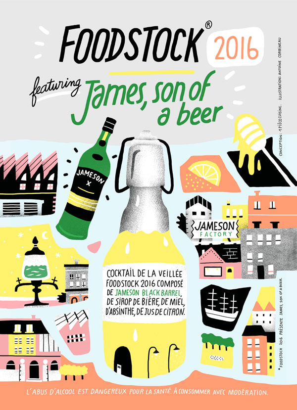 Le James Son of a beer du Foodstock 2016