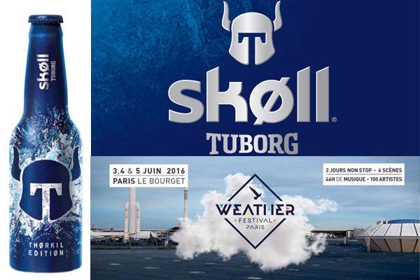 Skøll Thørkil Edition et Weather Festival