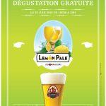 La bière Lemon Pale des 3 Brasseurs arrive en perce