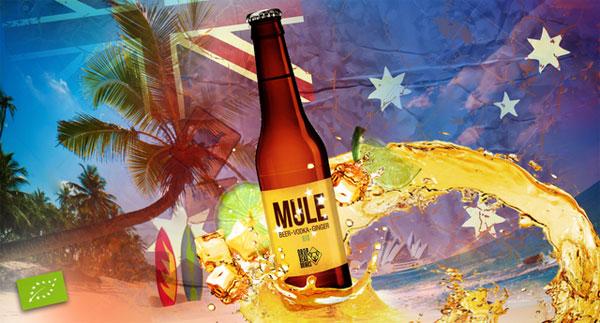 La bière Mule de Café Oz