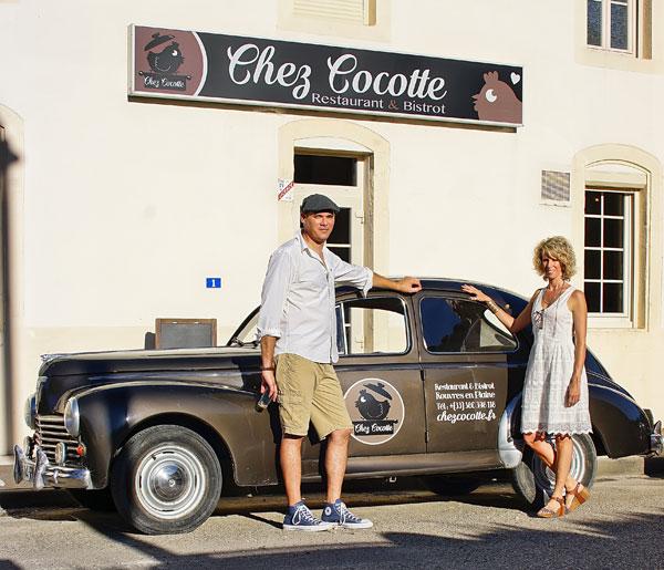 Chez Cocotte, lauréat du prix Des Cafés Pour Nos Régions