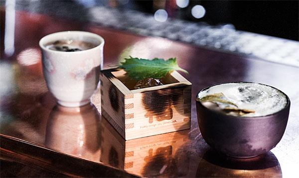 Les cocktails à base de whisky Suntory, signés de Kaled Derouiche, le bartender du Andy Wahloo