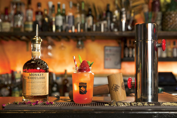 Cocktail Monkey Jam Sour