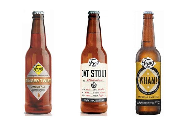 Les bières FrogBeer récompensées
