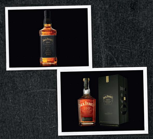 Les éditions limitées Jack Daniel's 150-ans