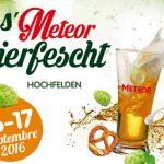 La 1ere Meteor Bierfescht c'est ce WE à Hochfelden