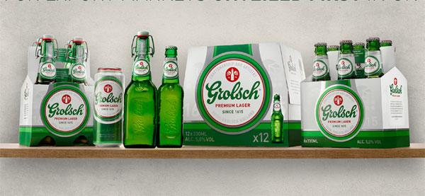 Le nouveau packaging de Groslch