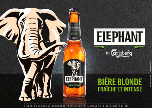Affiche promotionnelle Elephant by Carlsberg