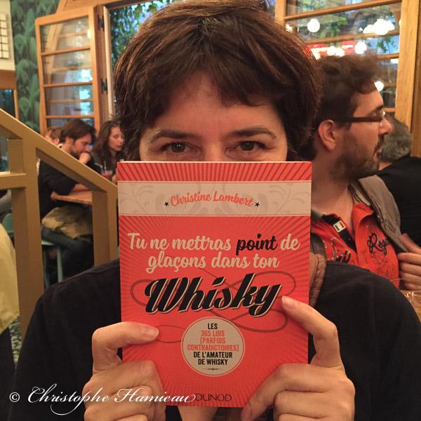 Christine Lambert et son chouette livre